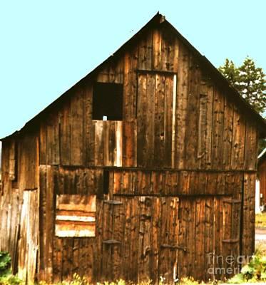 Photograph - Old Livery Ca 1850  Frisco Colorado by Merton Allen
