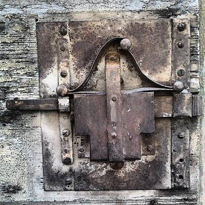 Metal Wall Art - Photograph - Old Lock by Nic Squirrell