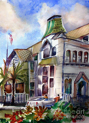 Painting - Old Los Angeles by John Mabry