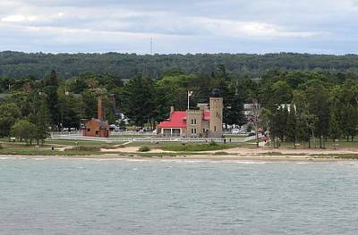 Photograph - Old Mackinac Point Lighthouse by Keith Stokes