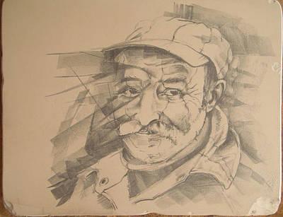 Old Man Art Print by Curt Sandu Viorel