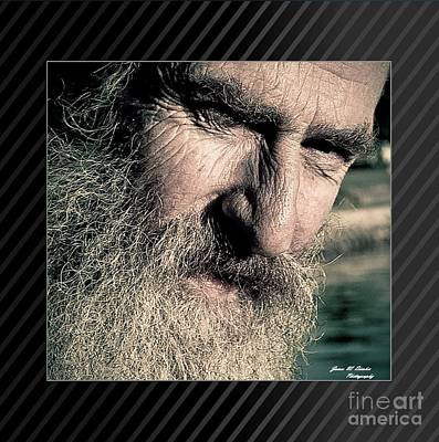 Photograph - Old Man by James  Dierker