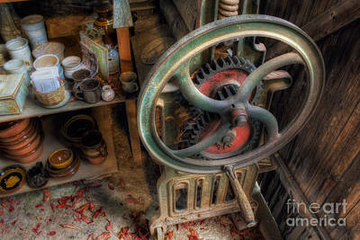 Photograph - Old Mangle by Ian Mitchell