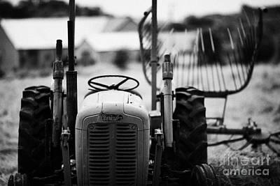 Old Massey Ferguson Tractor In Ireland Art Print by Joe Fox