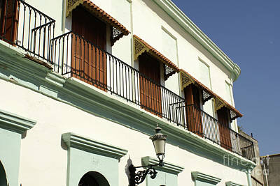 Photograph - Old Mazatlan Balconies Mexico by John  Mitchell