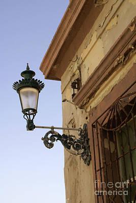 Photograph - Old Mazatlan Lantern Mexico by John  Mitchell