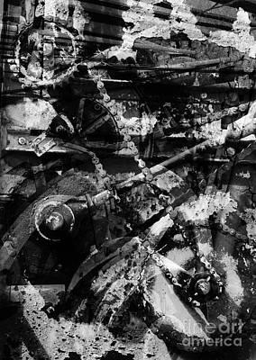 Old Mechanism  Art Print by Igor Kislev