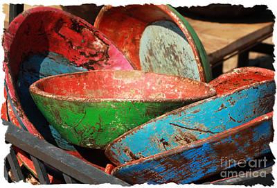 Aztec Pottery Photograph - Old Mexico by Lori Mellen-Pagliaro