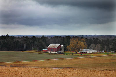 Photograph - Old Michigan Farm 1 by Scott Hovind