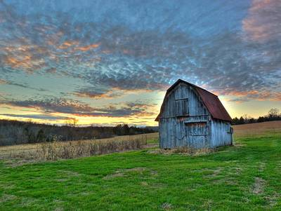 Art Print featuring the photograph Old Mines Barn by William Fields