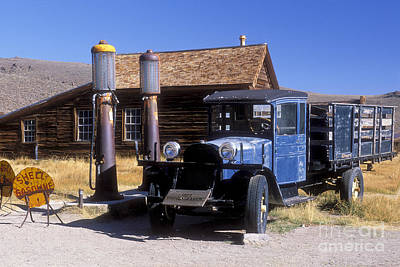 Photograph - Old Mining Days - Bodie, Ca by Sandra Bronstein
