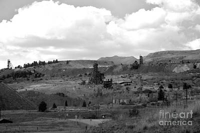 Photograph - Old Mining Town by Ellen Heaverlo