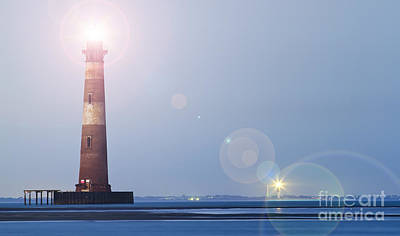 Morris Wall Art - Photograph - Old Morris Island Lighthouse Charleston Sc by Dustin K Ryan