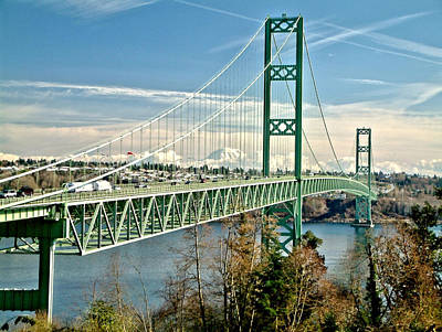 Art Print featuring the photograph Old Narrows Bridge by Rob Green