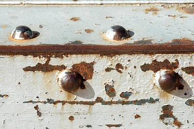 Photograph - Old Navajo Bridge Close-up by Julie Niemela