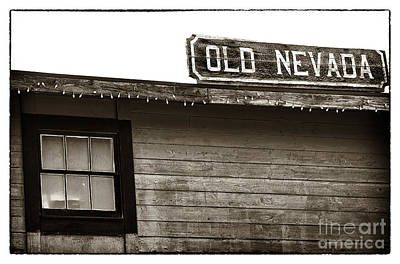 Photograph - Old Nevada by John Rizzuto