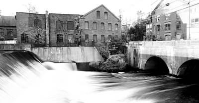 Old New England Mill Art Print