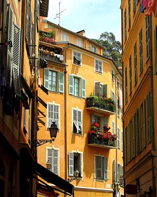 Provence Photograph - Old Nice by Carla Parris