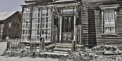 Old Old House Art Print by Richard Balison