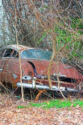 Photograph - Old Packard by Terri Maddin-Miller
