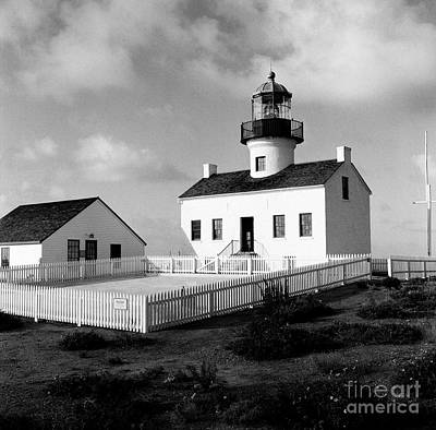Photograph - Old Point Loma Lighthouse by Dean Robinson
