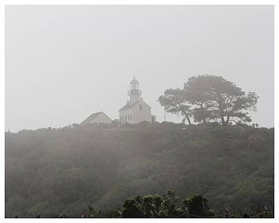 Photograph - Old Point Loma Lighthouse by Frank Wickham