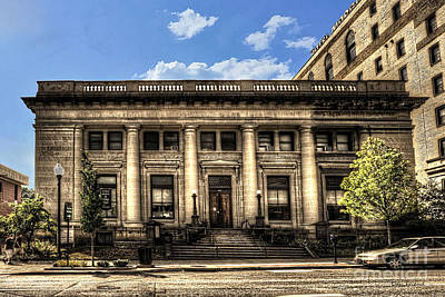 Photograph - Old Post Office Morgantown Wv by Dan Friend