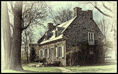Photograph - Old Quebec Homestead by Robert Knight