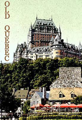 Old Quebec Art Print by Linda  Parker