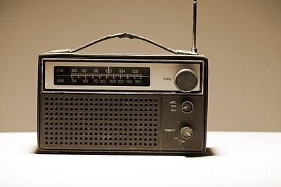 Photograph - Old Radio Set by Igor Kislev