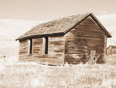 Photograph - Old Ranch Hand Cabin Ll by Kathy Sampson