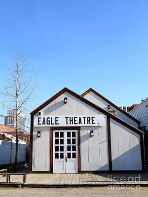 Old Sacramento California . Eagle Theatre . 7d11491 Art Print
