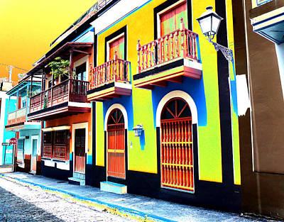 Old San Juan 10 Art Print
