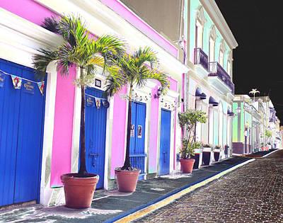 Old San Juan 6 Art Print