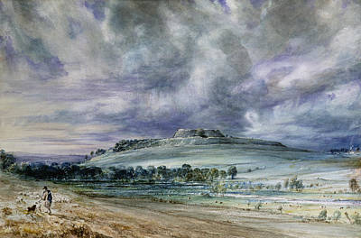 John Constable Painting - Old Sarum by John Constable