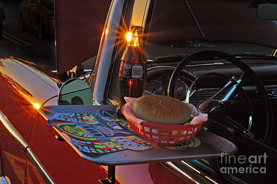 Nostalgia Photograph - Old School Date Night by Joann Vitali