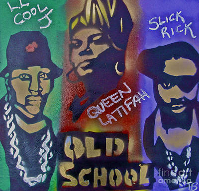 Liberal Painting - Old School Hip Hop by Tony B Conscious