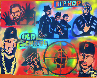 Liberal Painting - Old School Hip Hoppas by Tony B Conscious