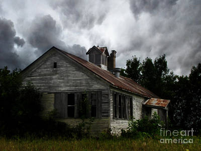 Photograph - Old School House by Ms Judi