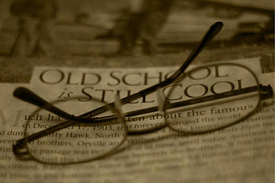 Photograph - Old School by Steven Richardson