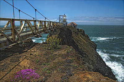 Photograph - Old Sfo Lighthouse by Gary Rose