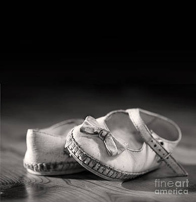Tattered Photograph - Old Shoes by Jane Rix