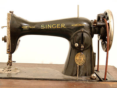 Old Singer 2 Art Print