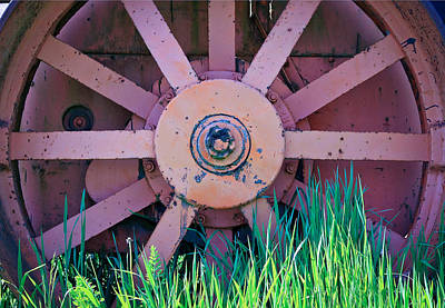 Photograph - Old Spokes by Steve McKinzie