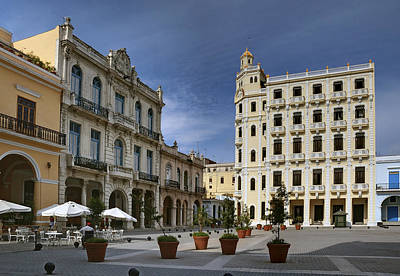 Photograph - Old Square. Havana. Cuba by Juan Carlos Ferro Duque