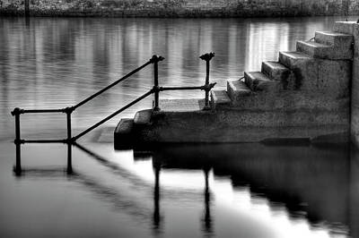 Old Stairway Art Print by Ander Aguirre photography