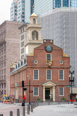 Photograph - Old State House I by Clarence Holmes
