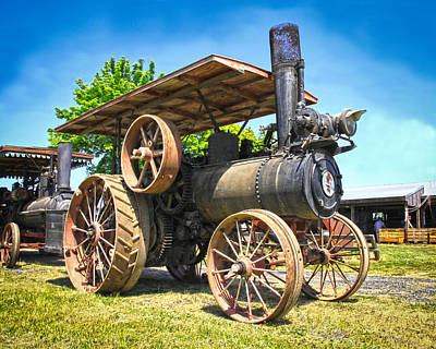 Photograph - Old Steam Engine by Steve McKinzie