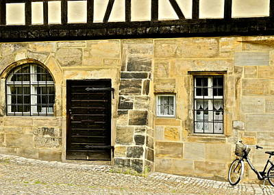 Photograph - Old Stone Building In Bamberg by Kirsten Giving