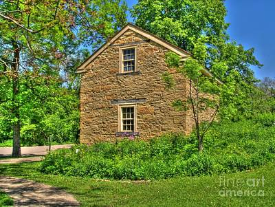 Country Cottage Photograph - Old Stone House I by Jimmy Ostgard